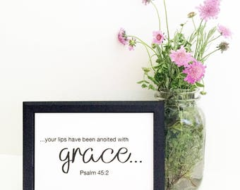 Anointed with Grace