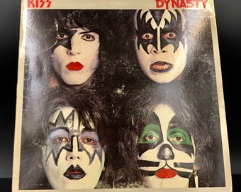 KISS - DYNASTY - Vinyl Lp Record - Rare Collectible! - Great Gift!