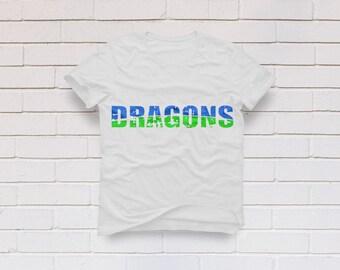 Dragons svg, Dragon svg, Dragons shirt svg, Distressed svg, Football mom svg, Football svg, Cricut, Cameo, Clipart, Svg, DXF, Png, Pdf, Eps