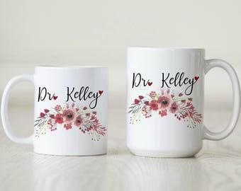 Doctor Gift Doctor Mug MD Gift MD Mug Medical School Grad Gift Medical School Graduation Resident Mug Resident Gift Intern Gift Intern Mug