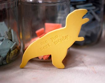 You Have a Dumb Face // Insult Dinosaurs // Ceramic Magnet