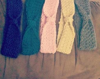 Warm, Crocheted, Winter Headbands/Earmuffs