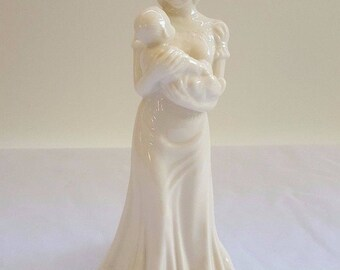 "Lenox Quiet Time Statuette 9"" Good Condition"