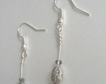 Sterling Silver and Spring Flowers