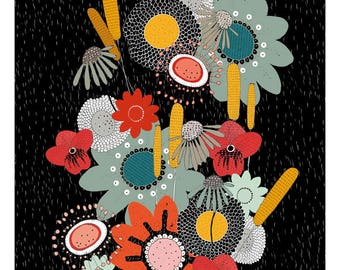Flowers/Art Print A3