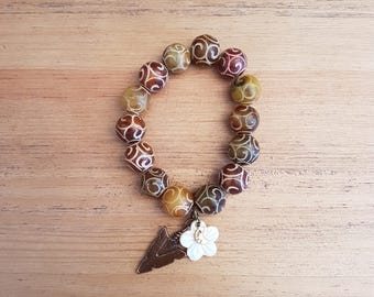 Women bracelet - 21, Indian agate.