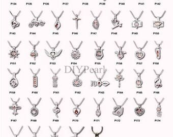 1PCS 2018 New Styles Cage Pendants,Locket Cage,Pearl Cage Pendants,Lockets,Wholesale,HBCP-ALL-3