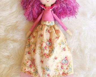 Handmade Mini Mai Doll, Mandy Mai