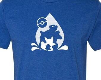 Pokémon Shirt Blastoise Splash