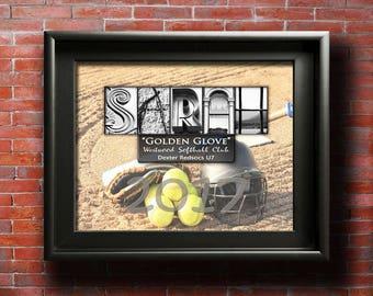 Softball Awards, PRINTABLE, Softball Player Awards, Softball Player Gifts, Softball Team, Softball MVP, Softball Certificate, Softball Mom