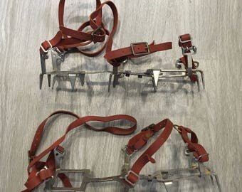 Seattle Manufacturing Co. Vintage Crampons