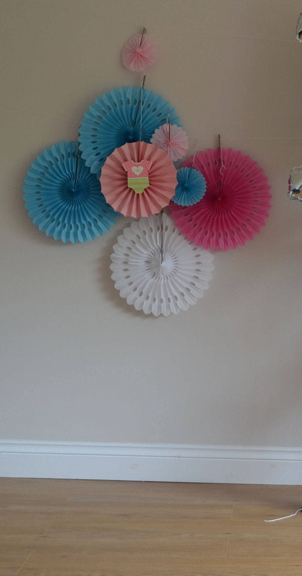 Paper Rosette Backdropwall Covering Wedding Background Giant