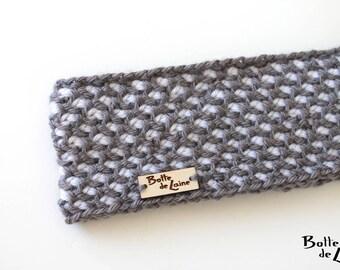 Women ear warmers ARTIC, ear warmers for women, using Tunisian Crochet