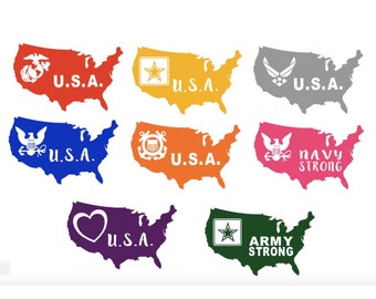 Military Decals United States
