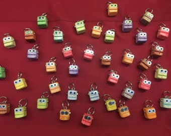 Cute and colorful robot key