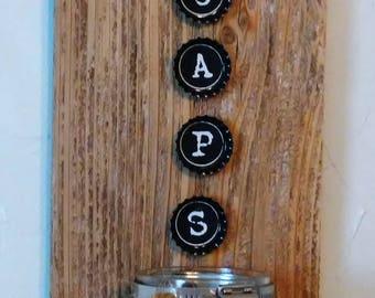 Rustic Bottle Opener made from Reclaimed Cedar Wood