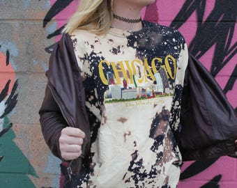 Chicago Bleached Shirt - X Large