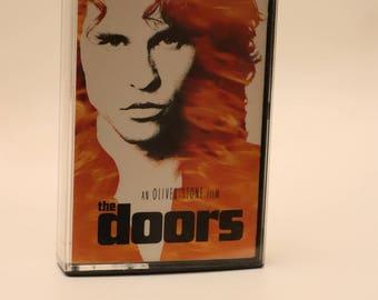 The Doors Original Soundtrack Cassette Tape 1990s Oliver Stone Val Kilmer Meg Ryan Kevin Dillon Kyle MacLachlan