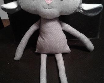Handmade soft lamb