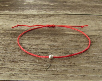 Kabbalah bracelet - red bracelet - red thread