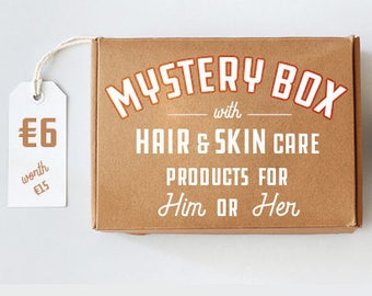 Mystery Box - Natural hair and skin care , organic Body Care.  Soaps, oils, balms and more!