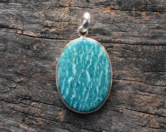 amazonite pendant,amazonite gemstone pendant,925 silver pendant,amazonite necklace,gemstone pendant