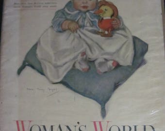 October 1915 Woman's World Cover
