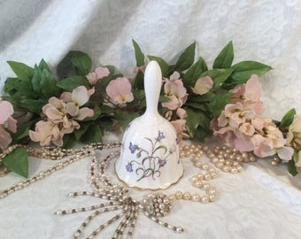"Spode Bell, ""Campanula"" or ""Blue Bells"" Pattern"