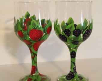 Berry Patch Glasses -set-