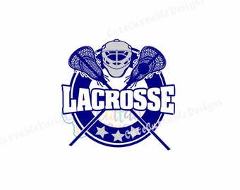Lacrosse SVG, Lacrosse Monogram svg, LAX svg, Cricut, Silhouette,Cut File, Clipart SVG, Eps, Dxf, Png, Sports