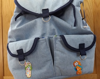 3 in 1 Backpack with internal and external pockets