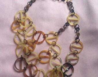 Natural Buffalo Horn Necklace, Necklace Handmade, Women Necklaces, Handmade Necklace [NHL24]
