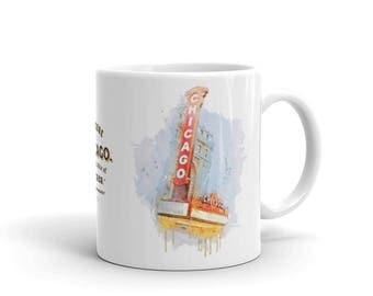 Chicago Mug | Historic Theater Concert Hall + Venue | Gift Idea