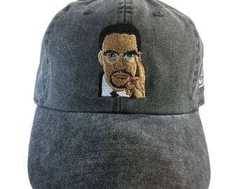 Malcolm X Legend Baseball Hat