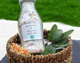 Ylang Ylang & Clary Sage Bath Salts