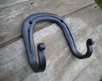 Horse Shoe Double Hook // Coat Hook // Tack Hook