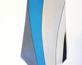 Vintage Emilio Pucci-70 tie-NEW-stock Fund