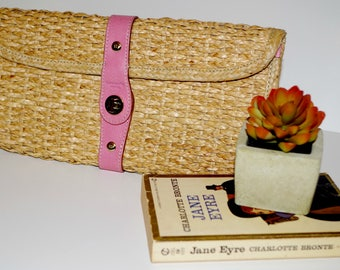 Kate Spade ORIGINAL Straw Clutch