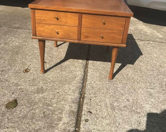 American of Martinsville Mid Century Modern Sofa/End/Side Table