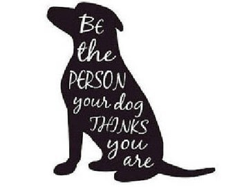 Digital Download Dog Person Quote