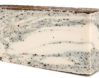 Coconut Olive Oil Handmade Soap Slice
