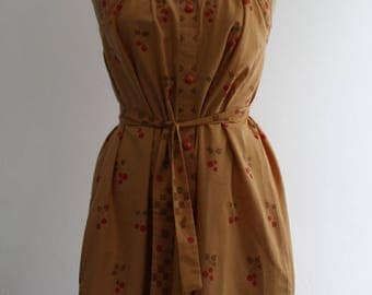 Vintage 1970s Cotton Sun Dress