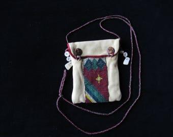 Native American Deerskin Pouch
