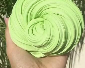 Green Kiwi Fluffy Slime