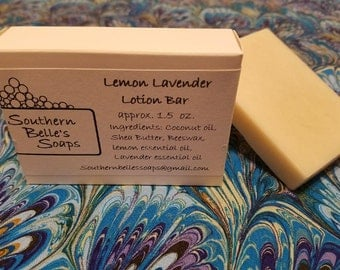 Handmade Solid Lotion Bars
