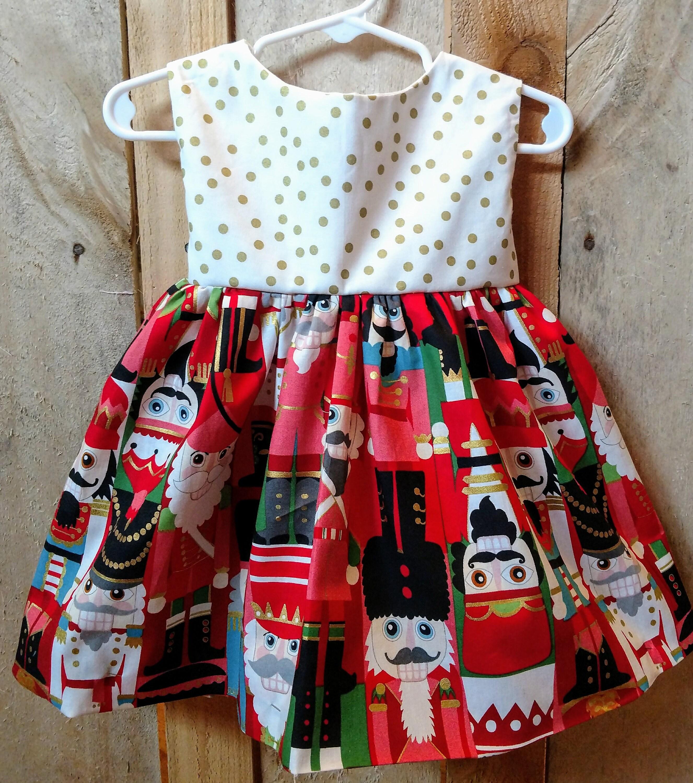Nutcracker dress nutcracker baby dress nutcracker toddler dress