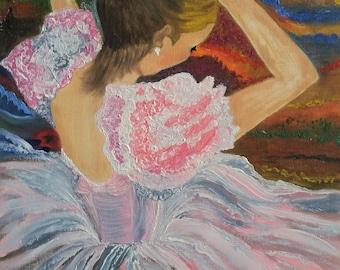 Graceful Ballerina - Print