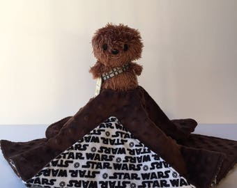 Ultra Plush and Snuggly Star Wars Chewbacca Lovey