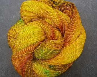 Marigold ~ Audrey ~ Merino Nylon Sock Yarn