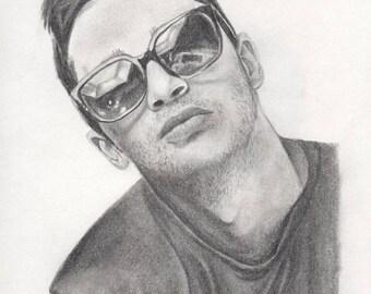 Illustration of Tyler Joseph from TWENTY ØNE PILØTS